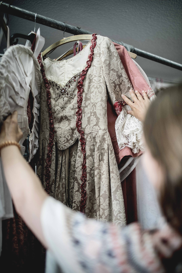 Kleid Rokoko Ansbach