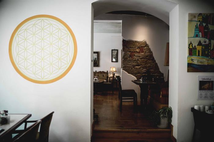Mandala an der Wand