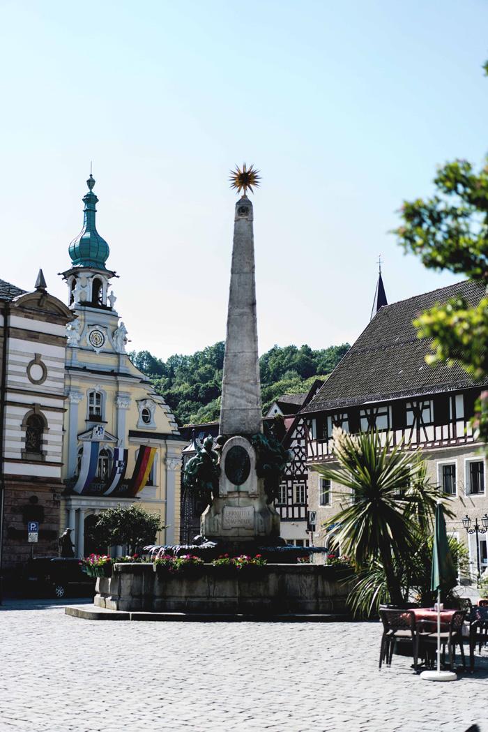 Marktplatz von Kulmbach