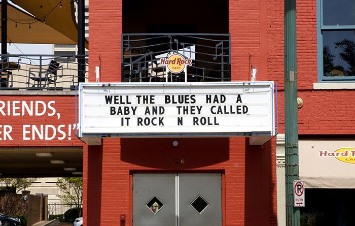 "Memphis ""Blues had a baby"""