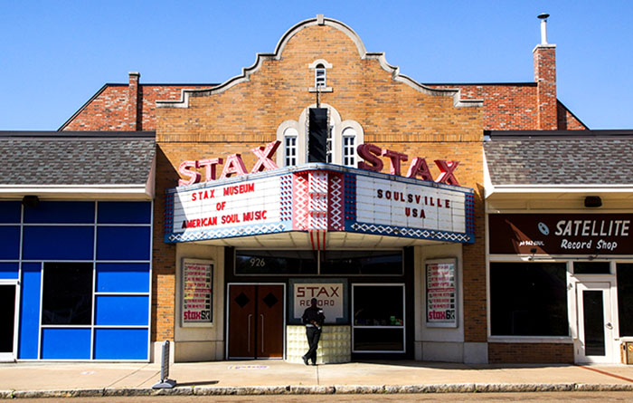 STAX Studio on Soulsville, Memphis