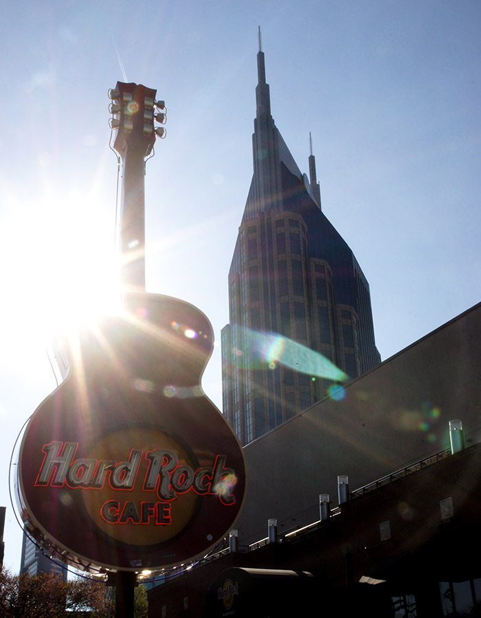 Hardrock Cafe am Boradway in Nashville