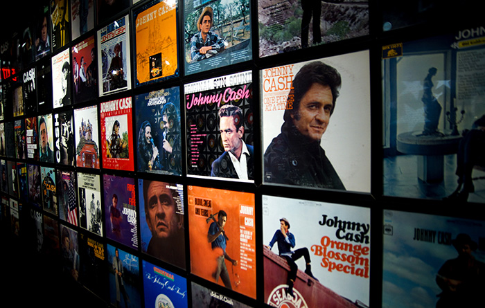 Nashville Johnny Cash Musuem Innen