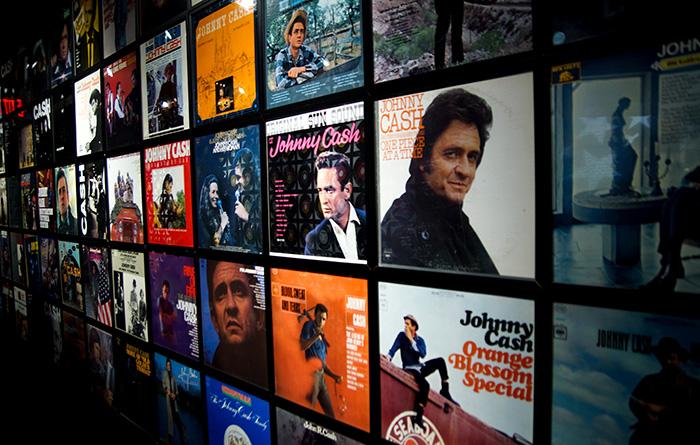 Nashville Johnny Cash Musuem Innen