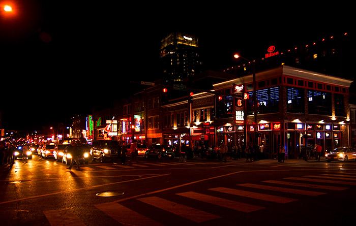 Nashville Lower Broadway Honky Tonks