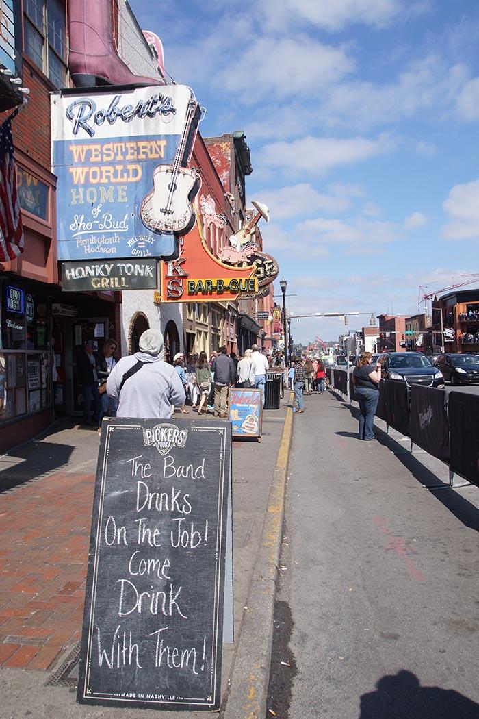 Nashville Lower Broadway Honky Tonk