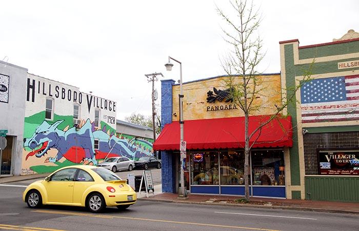 Dragon Mural in Nashville
