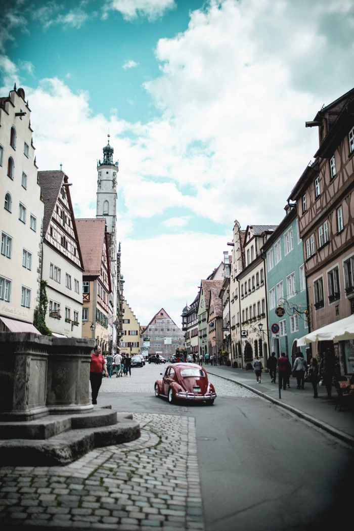 Oldtimer in Rothenburg