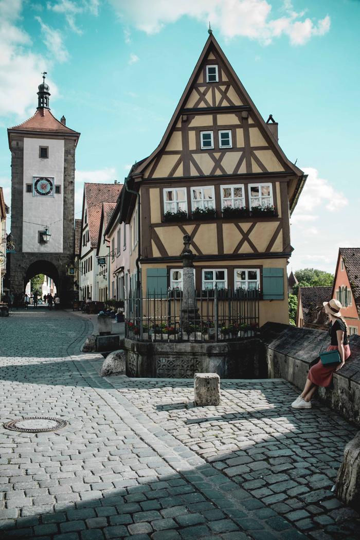 Plönlein Rothenburg Franken