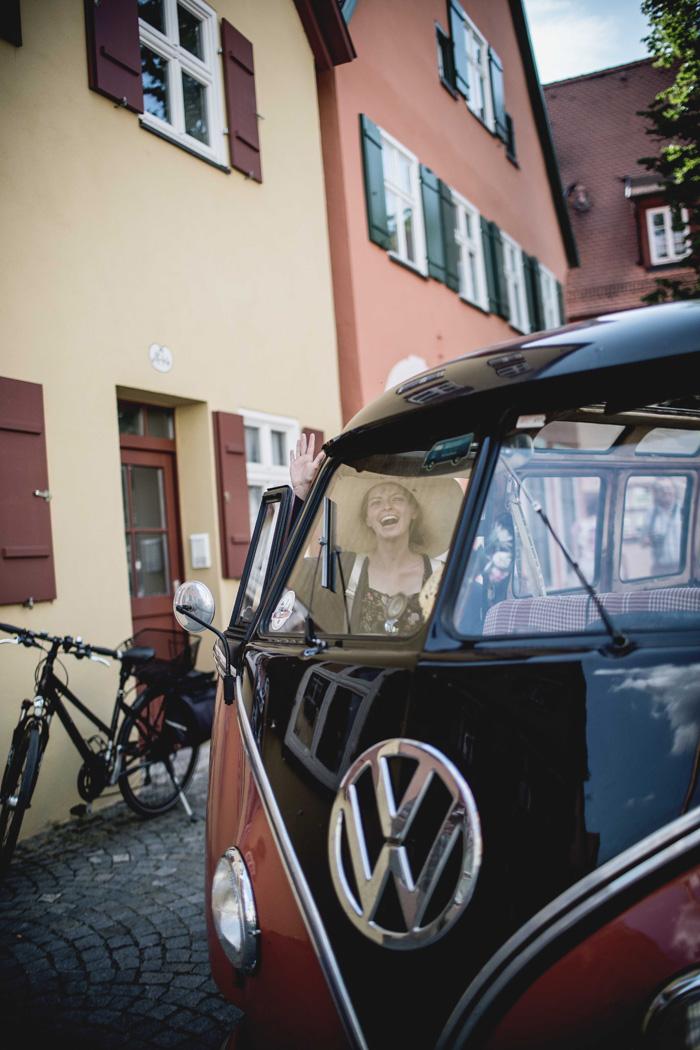 VW Bus retro