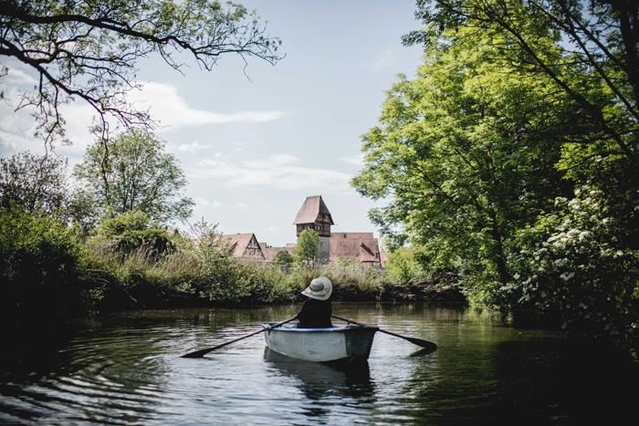 Ruderboot fahren Dinkelsbühl
