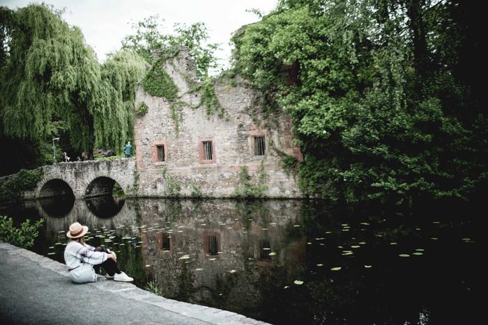 Ruine im Park Schönlein