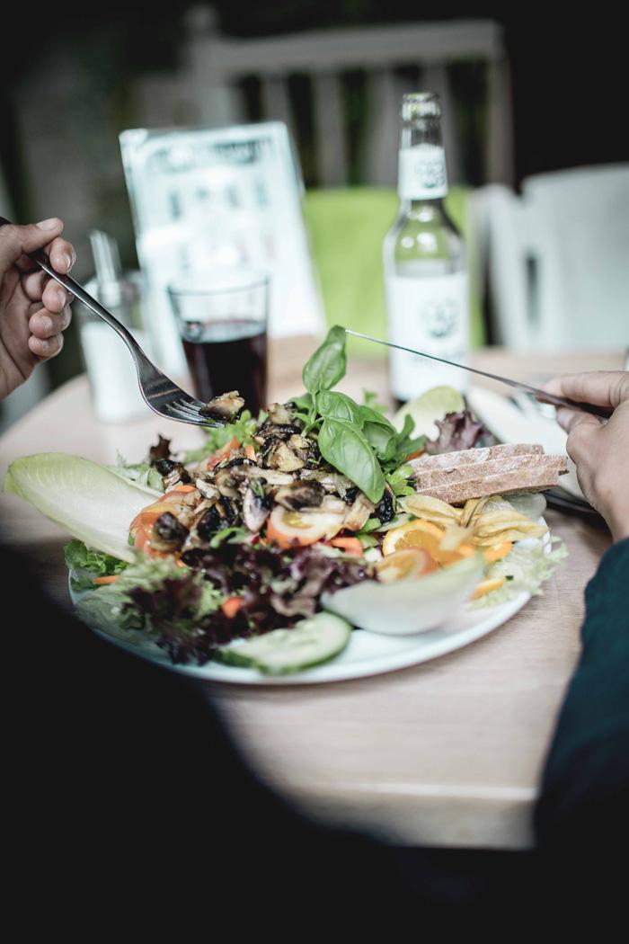 Salat Café Sorgenfrei