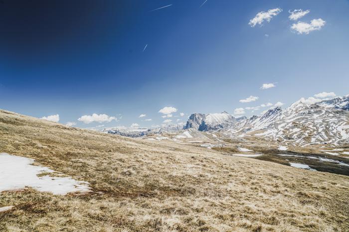 Schlerngebiet in Südtirol