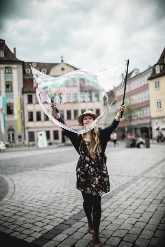 Seifenblasen Christine Neder