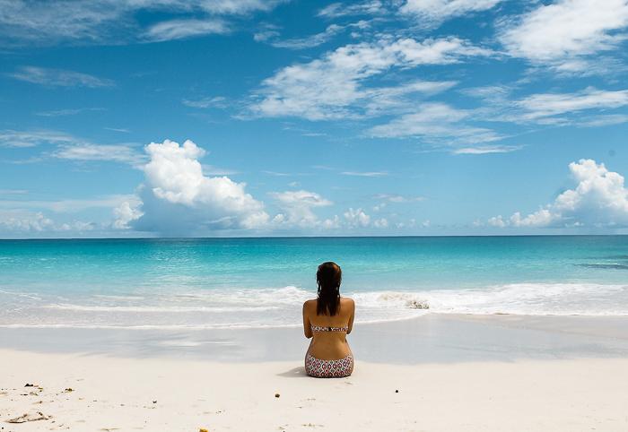 Strandtag auf den Seychellen