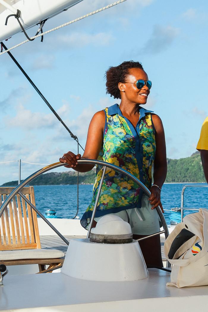 Segeln auf den Seychellen