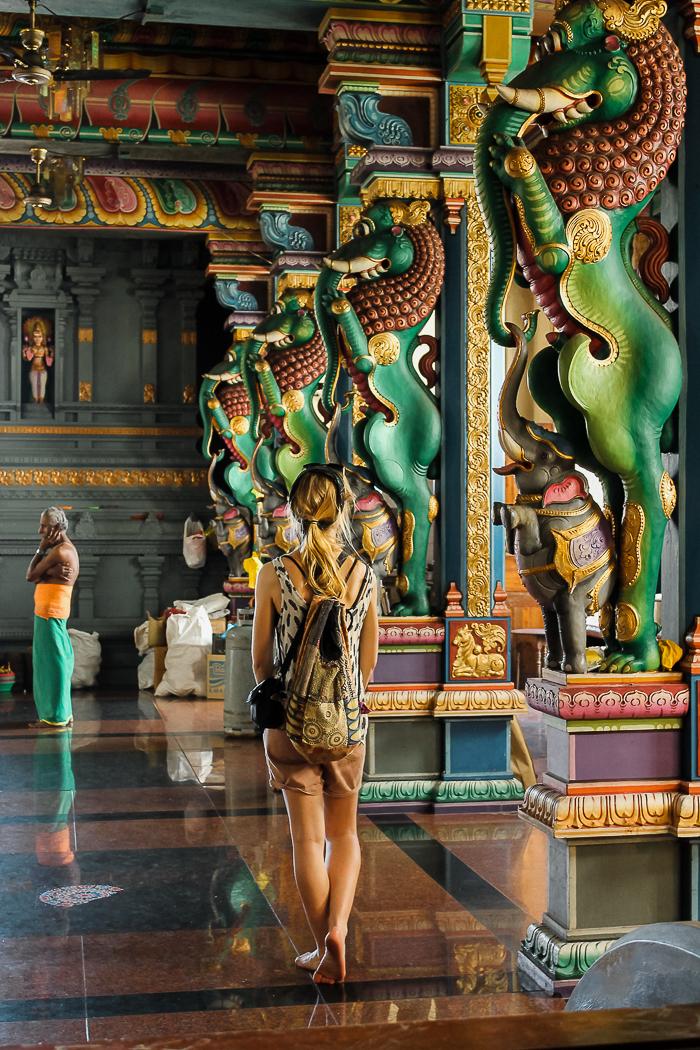 Indien Hindu Tempel auf den Seychellen