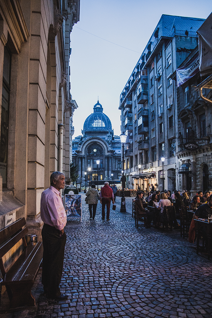 Stadtleben Bukarest