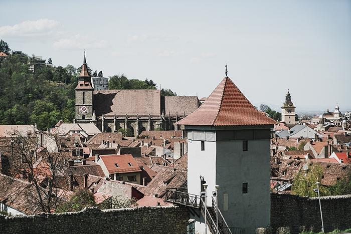 Stadtmauer von Brasov