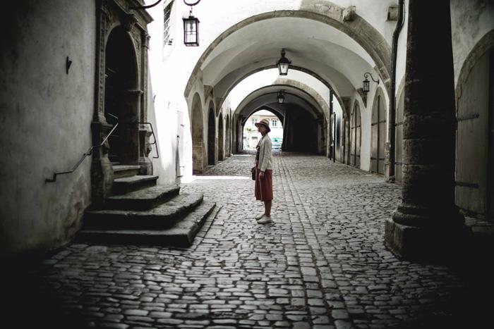 Stadtverlies Torbogen Rothenburg