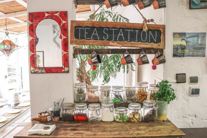 Tea Station Surf Maroc