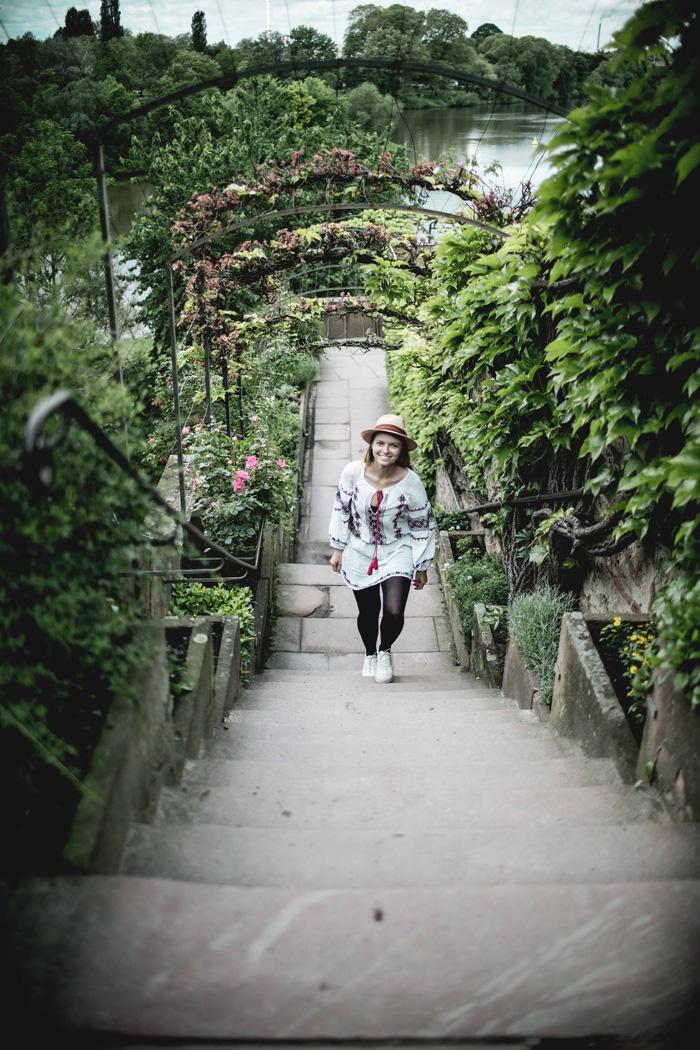 Treppen Park Schönlein Christine Neder