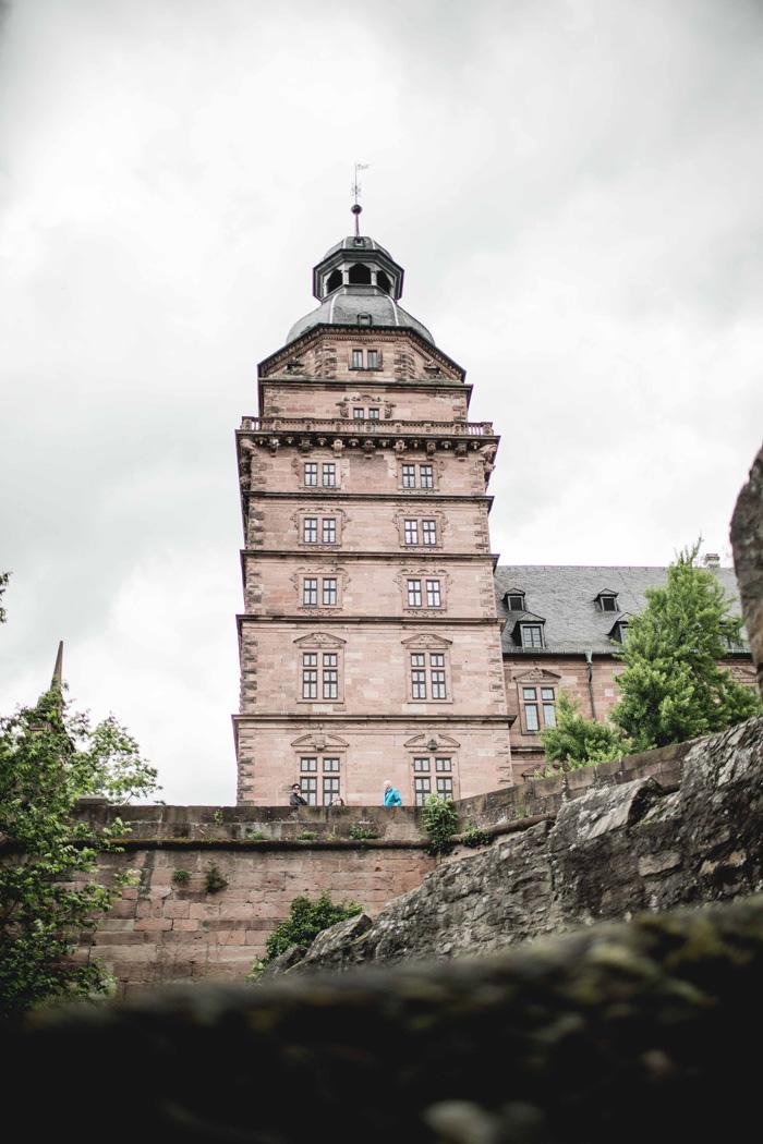 Turm von Schloss Johannisburg