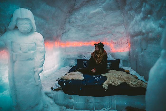 Uebernachtung im Eishotel