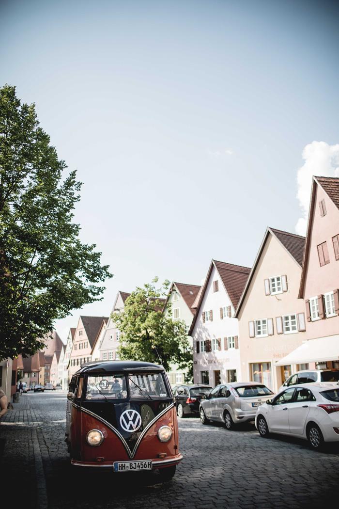 VW Bus in Dinkelsbühl