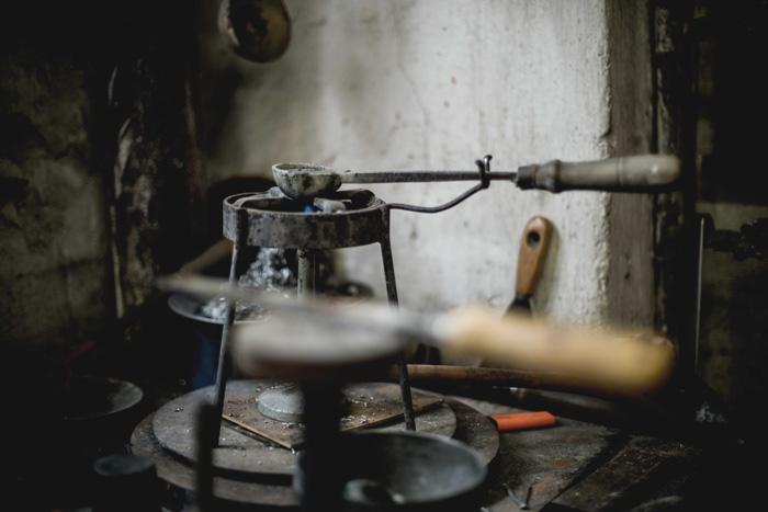 Werkzeug Zinngießerei Eisenhart