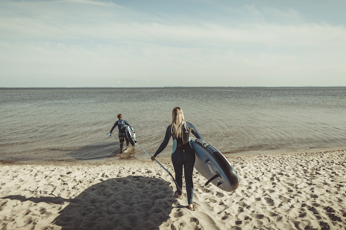 Urlaub an der Ostsee Stand Up Paddling