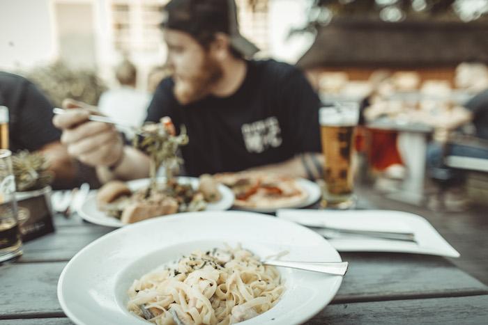 Abendessen im Capolino