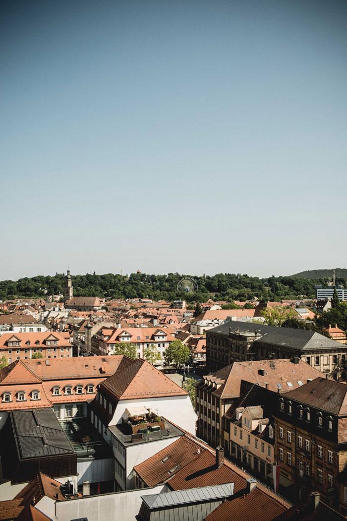 Aussicht Erlangen
