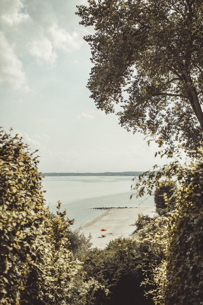 Aussicht von der Steilküste