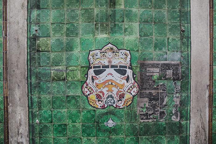 Azulejos Star Wars Lissabon