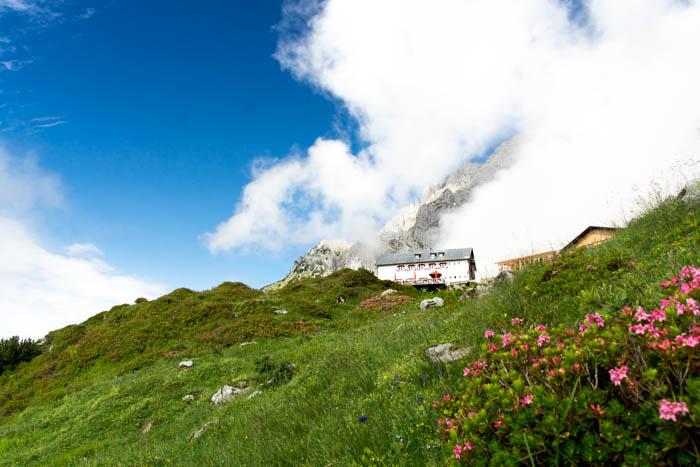 Bergsport am Wilden Kaiser Gruttenhütte