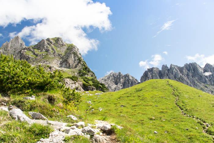 Bergsport am Wilden Kaiser