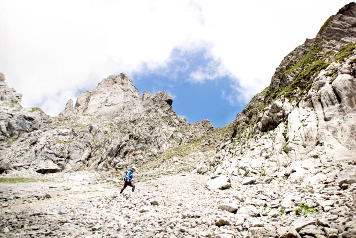 Bergtour Gruttenkopf Wilder Kaiser