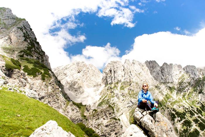 Bergsport am Wilden Kaiser Wandern