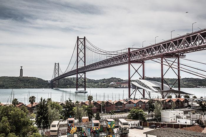Bruecke des 25.April Lissabon