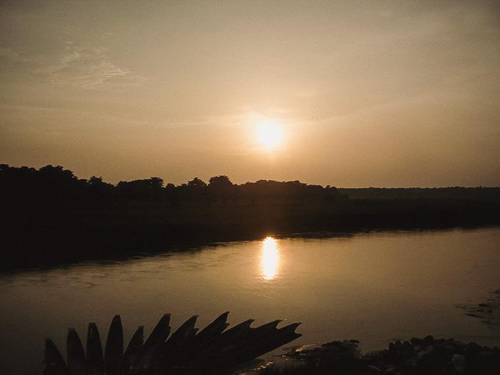 Chitwan Sunset Nepal Reisetipps