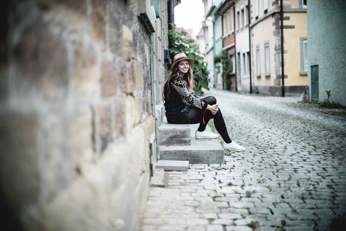 Christine Neder Treppe