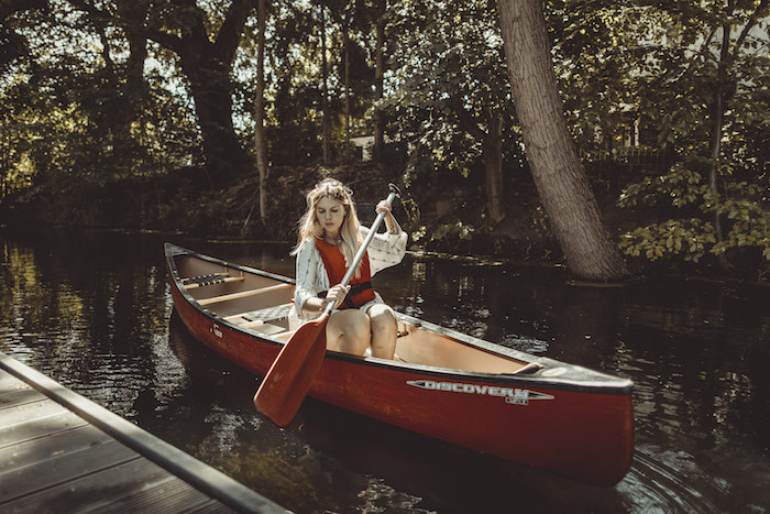 Kanu fahren Ostsee