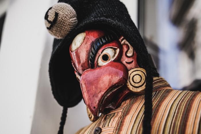 Esotherische Maske