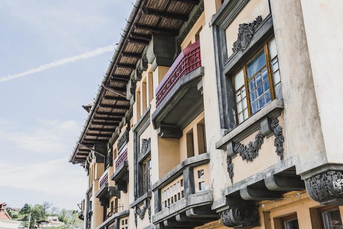Fassade in Brasov