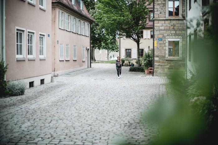 Gasse in Schweinfurt