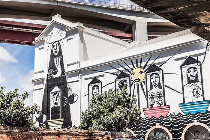 Graffiti LX Factory Lissabon