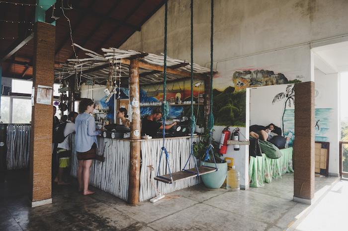 Hangtime Hostel Restaurant