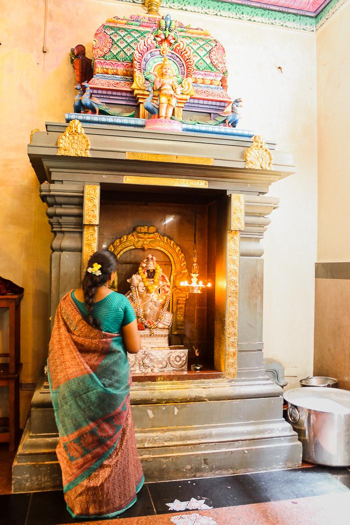 Hindu-Tempel Seychellen